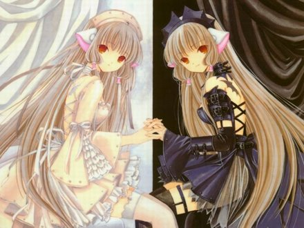 chobits wallpaper. The romance was good,