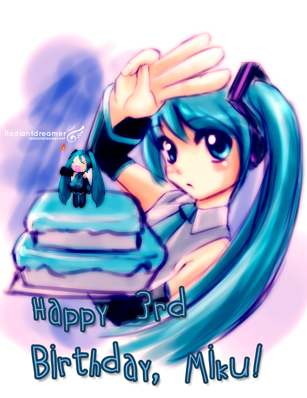 3rdbirthdaymiku Happy Birthday Miku!
