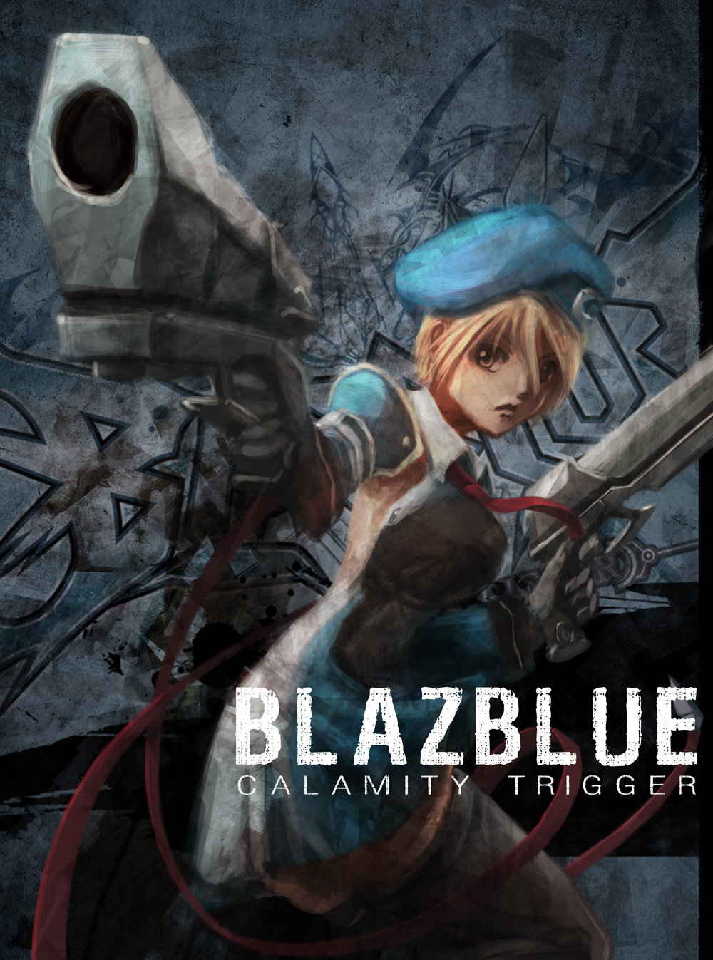 blazblue cover noel My art is on Blazblue UK Cover!