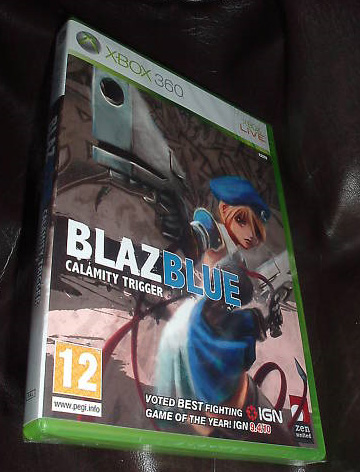 boxart My art is on Blazblue UK Cover!