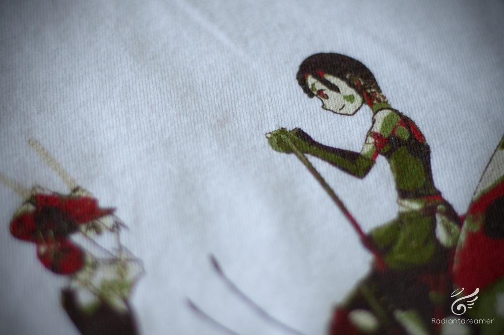 Boomslank T-shirt Texture