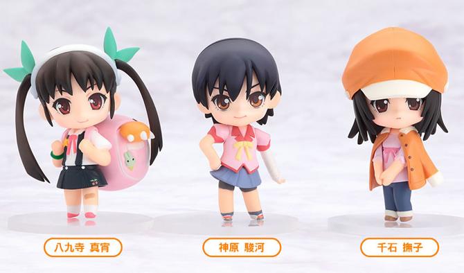 Bakemonogatari Nendoroid Puchi set #2