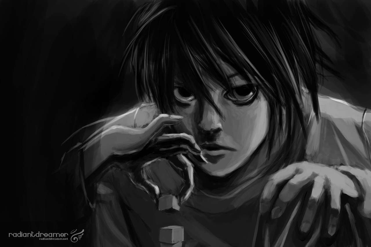 deathnote fanart L