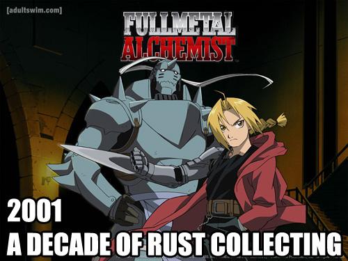 Full Metal Alchemist 2001