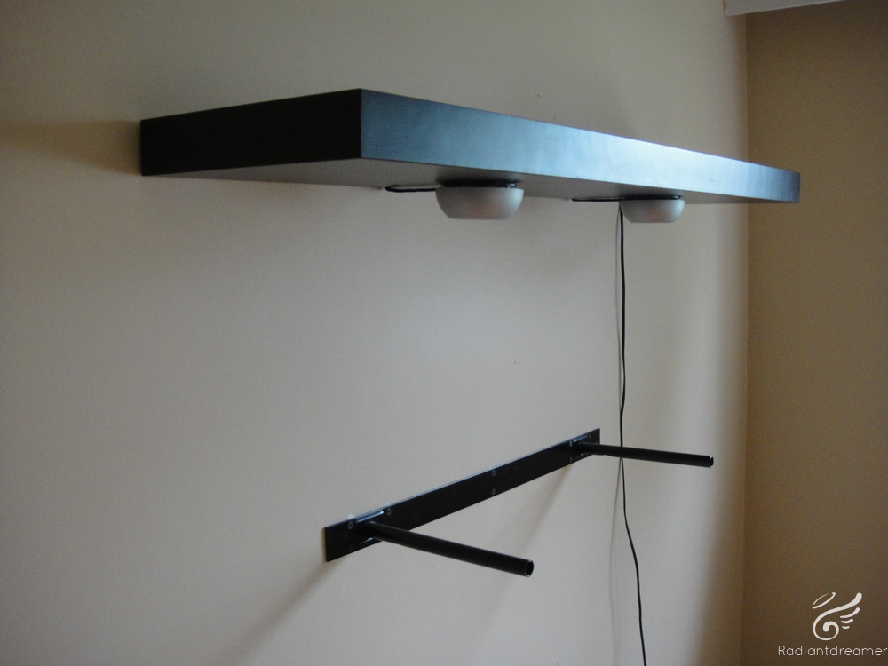 How to Mount a Lack Shelf