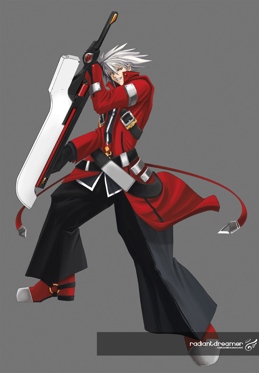 ragnafanart Ragna Blood Edge   Blazblue Fan Art