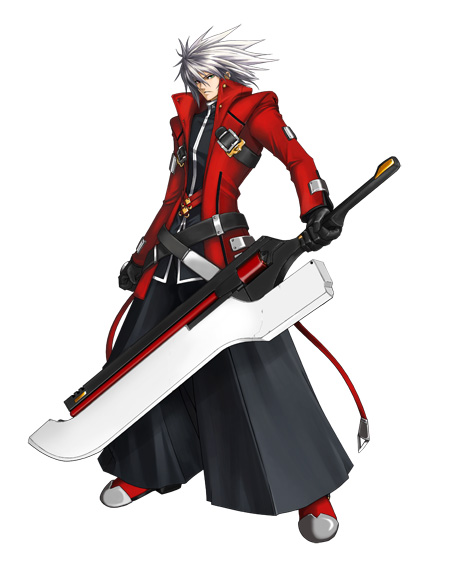 ragnaref Ragna Blood Edge   Blazblue Fan Art