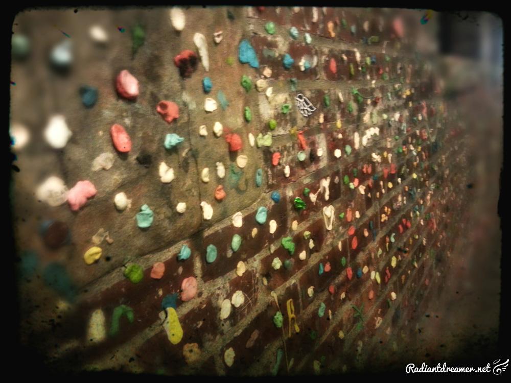 Sakura Con 2013 Wall of Gum