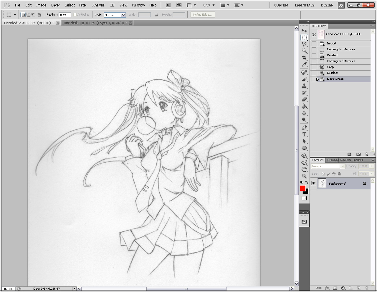 Line Drawing Program : Radiant dreamer how to draw better line art