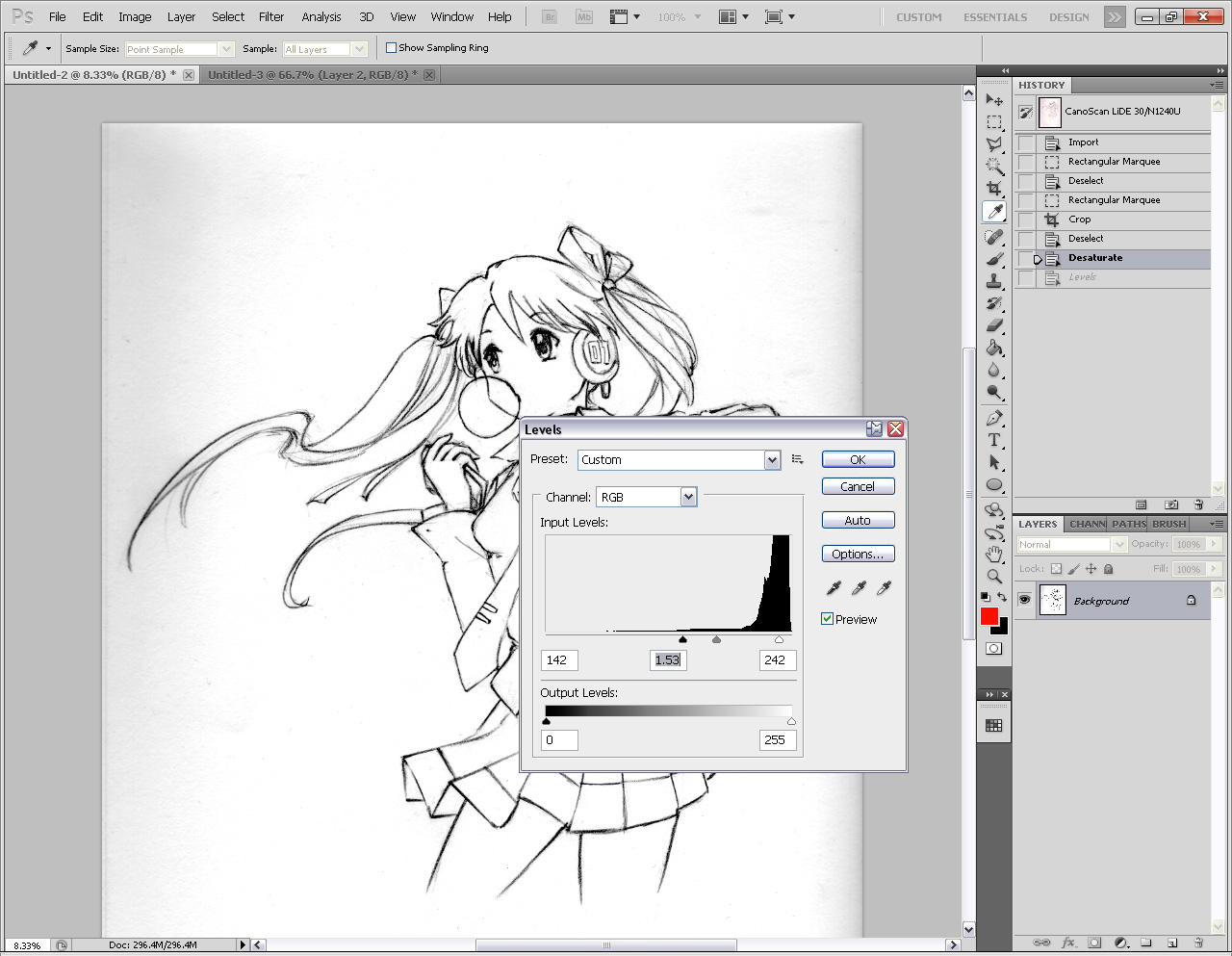 Drawing Lines Software : Radiant dreamer how to draw better line art