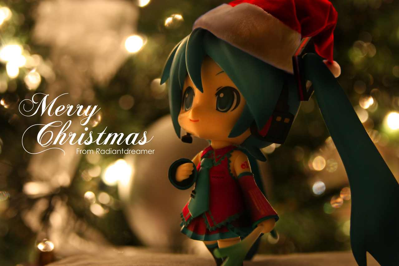 Radiant Dreamer » Christmas Miku! Happy Holidays from Radiantdreamer!