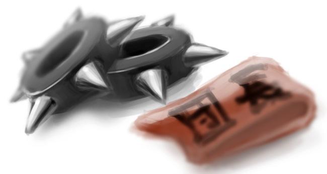 Chun Li's bracelets, and Haruhi's armband