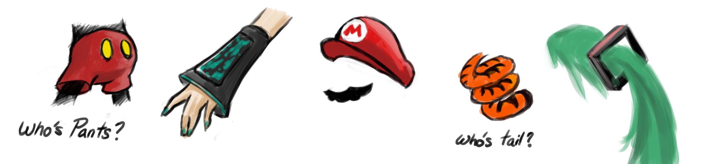 Big Detail Mascot Parts