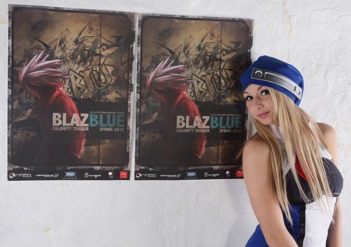 Blazblue Euro Poster