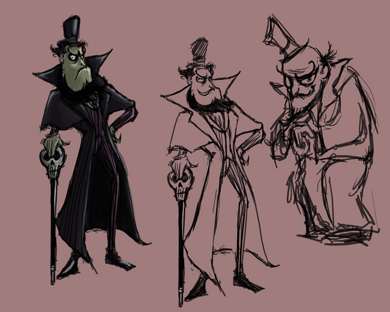 An old character design for a rich duke