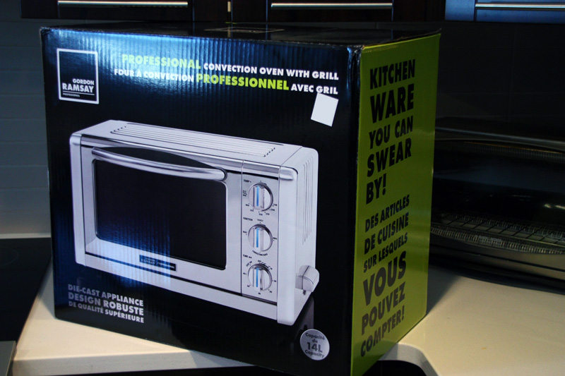 Gordon Ramsay Convection Toaster Oven