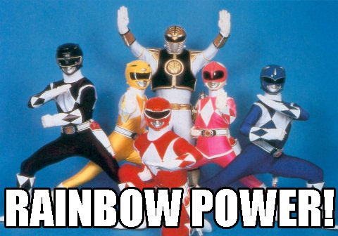 Power Rangers 1993