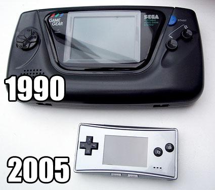 Game Gear vs GBA Micro