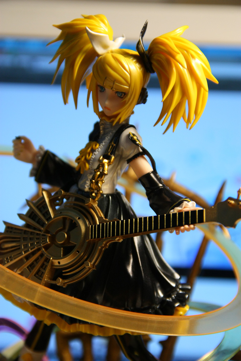 Backlit shot of Rin Nuclear Fusion