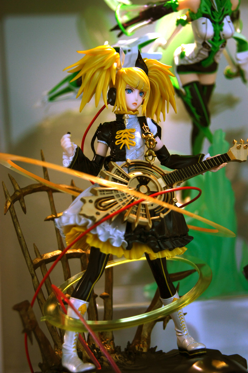 full shot of Rin Nuclear Fusion wire attached