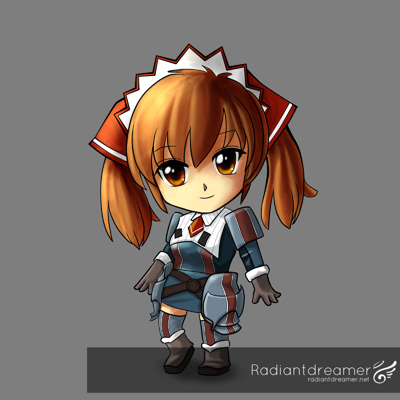Finished image of Alicia Nendoroid in Easy Painter Tool Sai