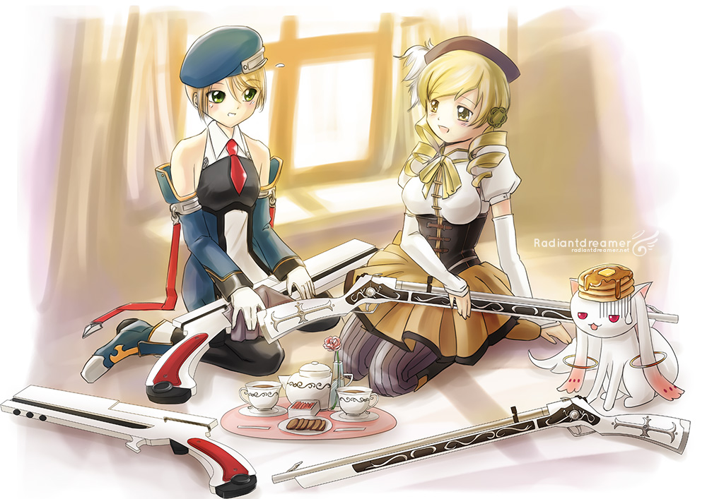 RadiantDreamer's Guest Art for Collateral Damage Studios featuring Mami from Madoka Majika.